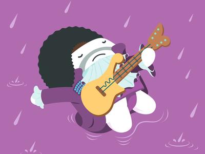 Casumo Dribbble Prince 800x600 purple rain prince illustration genius casumo