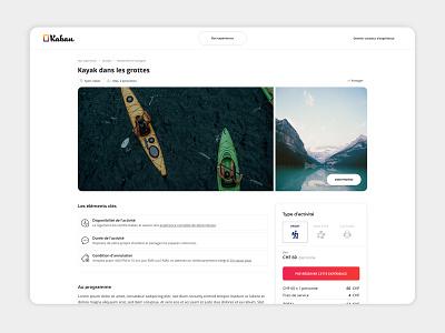 Kaban - Créateur d'expérience minimal website web ux ui graphic design design branding