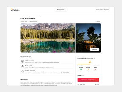 Kaban - Créateur d'expérience traveling digital branding agency vector website web ux ui branding