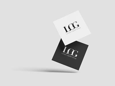 LCG white background blackletter branding logos mockup logodesign logotype logo