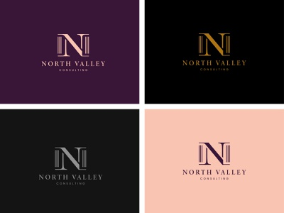 NORTH VALLEY LOGO DESIGN ui ux typography vector icon graphic design illustration logo design branding