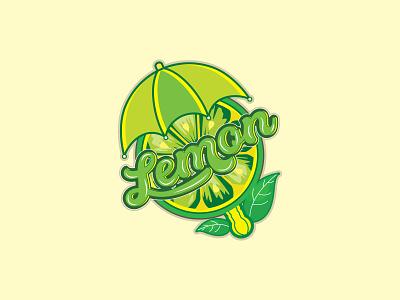 LEMON MASCOT LOGO 3d logos calligraphy macot typography graphic design illustration logo design branding