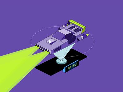 Robinhood Investing - Car morph lineart isometric cars morph car robinhood loop flat 2d animation