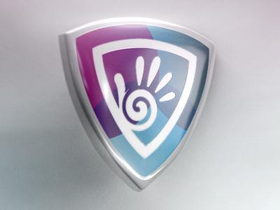 My Dribbble debut logo 3d hdri website debut c4d 2d3d cinema4d