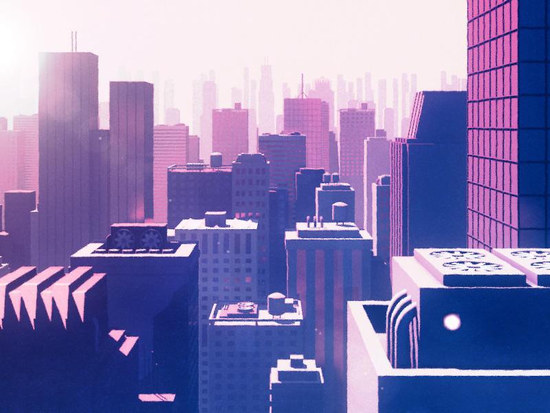 Concept City Sunrise