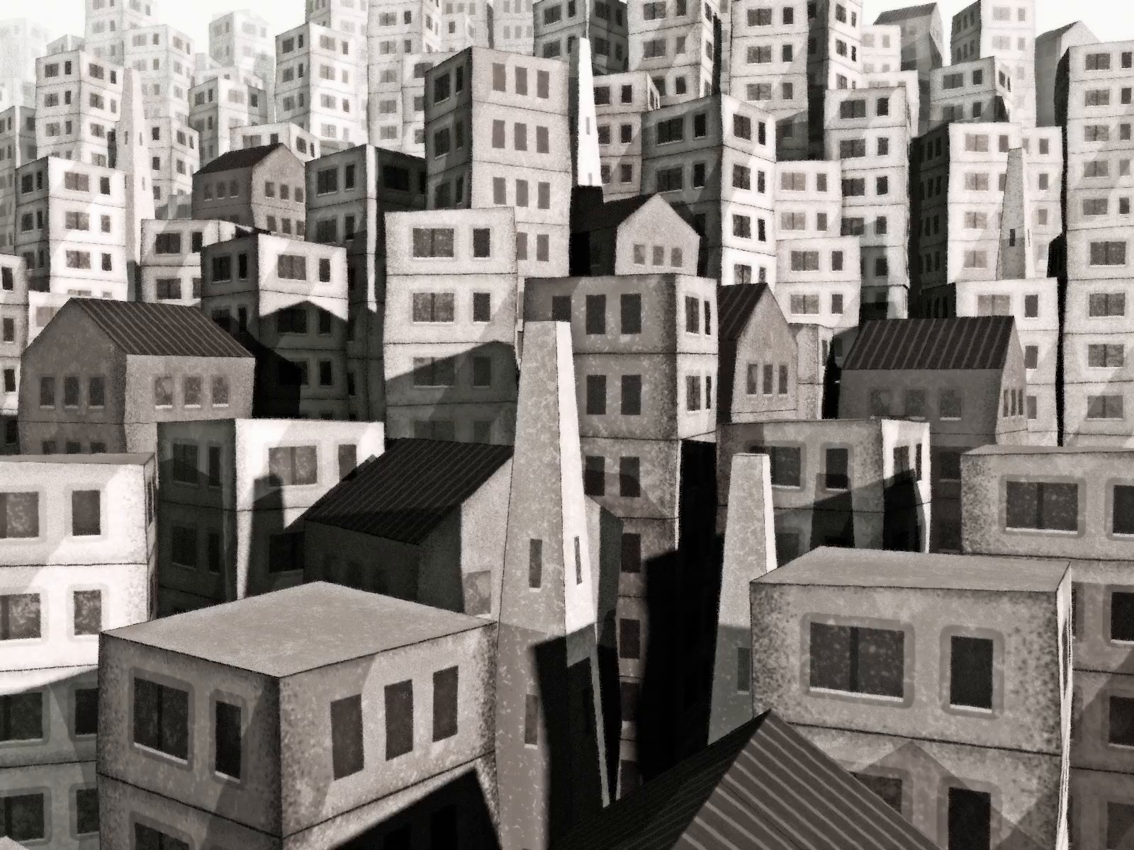 Unknown Village - Styleframe exploration