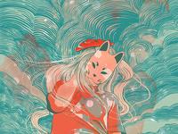 Kitsune Crayon
