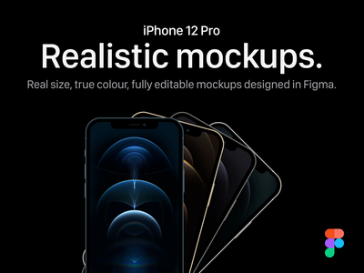 iPhone 12 Pro Mockups for Figma iphone 12 pro device mockup device iphone 12 pro mockups figma mockup figma