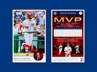 Bryce Harper Topps Baseball Card