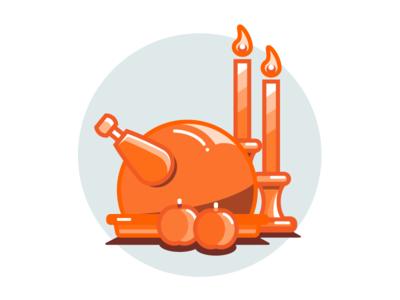 Happy Thanksgiving! iilustrator design graphic flat illustration thanksgiving