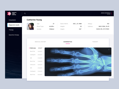 Medical Care Center aid case study medecine design web health medical ux ui app animation