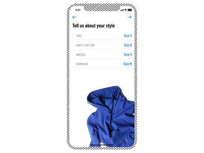 Fashion App concept butique ios mobile ecommerce app product store shop fashion ux ui catalog