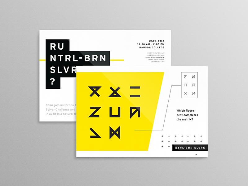 ntrl brn slvrs promo postcard by n v d r dribbble