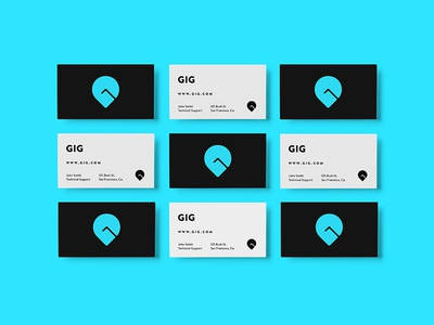 GIG Car Share - Business Card
