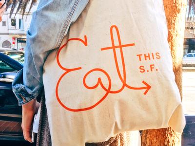 EatThisSF - Tote Bag