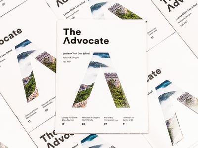 The Advocate Covers Fall 2017