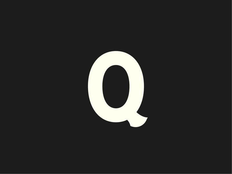 Letter By Letter: Q quotes typeface custom serif q