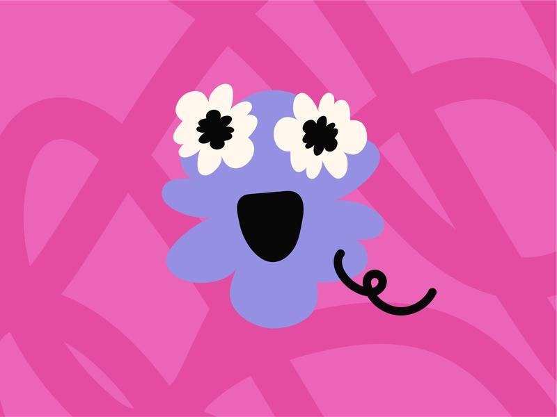 Lil Spirit pride month illustration blob spirit pride