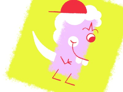 Sweet Creature - Janice creature sweet fun odd illustration