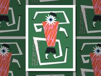 Eyes Wide Open - Discovery Through Running illustrator texture running zine illustration