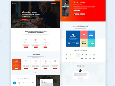 Thinkwik Final Homepage