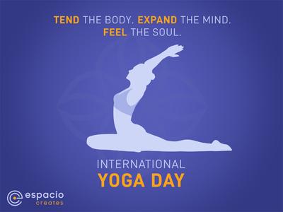 International Yoga Day - Branding