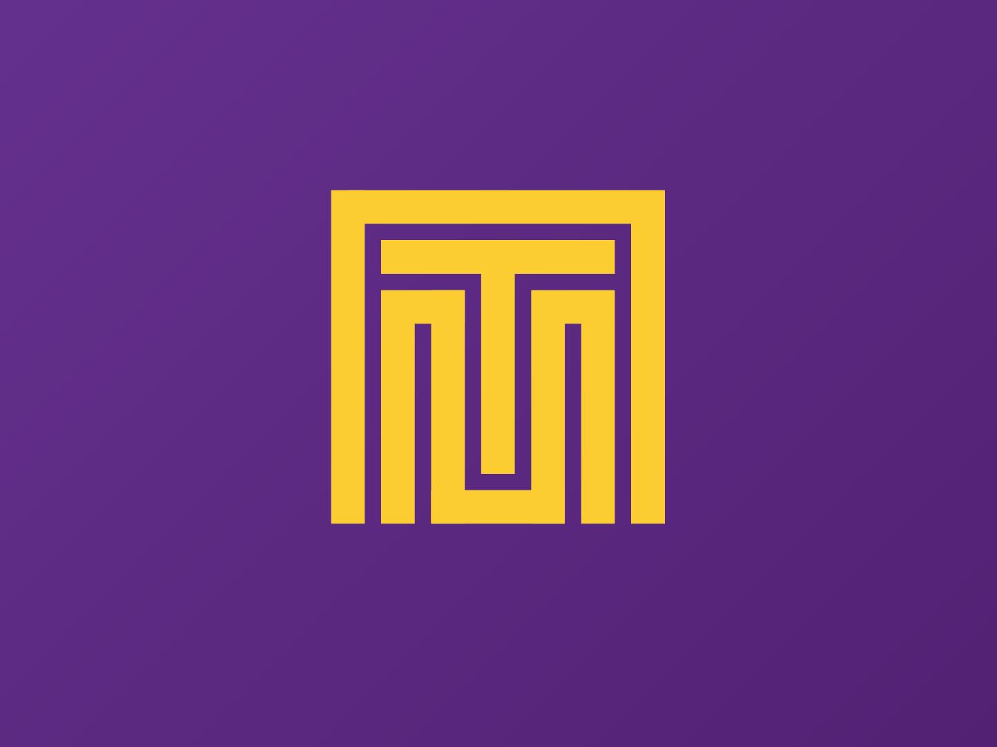 TMA Monogram illustrator initials initials logo logos graphic design monogram