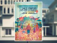 Startups à l'Ouest