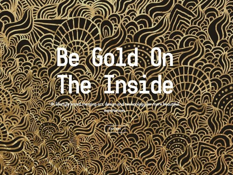 www.bgoti.com art design illustration gold black