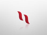 "Lowercase ""H"" Logo branding graphic design logo"
