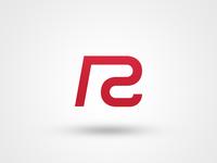 """RC Logo"" simple clean vector illustrator design graphic redcreative rc brand logo"