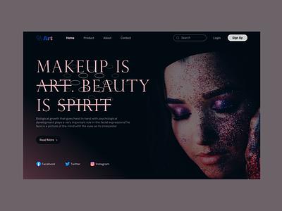 Face art website clear graphic design ui illustration flat bestdesign logo motion graphics face art creative branding home clean best design website