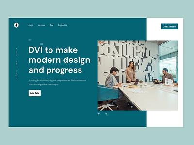 Website DVI Design best fgma logo balance bestdesign branding elegant simple graphic design creative flat clean design ui websitedesign website