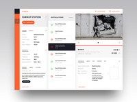 dashboard of inventory management asset view