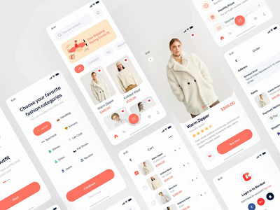 Bardeal Online Shop UI KIT animation app animation design checkout category shopping product cart ui kit interaction payment online shop ecommerce animation app apps mobile design mobile app ux ui mobile