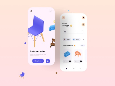 Furniture shop app ui interface interfaces interfacedesign ui design dribbble best shot designer app uiux design app ui  ux dribbble dailyui user interface uxresearch user interface design userinterface uiuxdesigner uidesign graphicdesign design