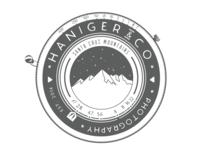 Haniger&Co Branding Concept branding logo design illustration
