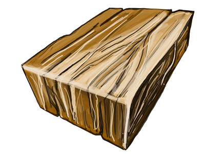 A piece of wood. The structure and texture drawing texture structure wood beautiful cartoon background concept design vector markers