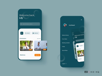 Findoc App Concept minimal medical menu design ux uiux ui colors medicine doctors medical app ui design ux design design behance branding typography figma dribbbleweeklywarmup dribbble best shot dribbble