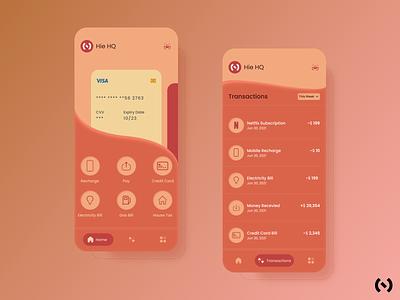 Fintech App Concept graphic design product behance mobile design finance financial app finance app 3d colors ios app fintech app fintech ui design ui ux ux design uiux figma dribbble best shot dribbble