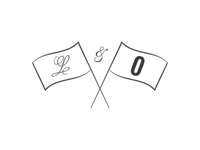 Lavender & Oak Icon logo vintage apothecary script fonts icon simple