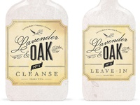 Lavender & Oak Logo Final Bottles