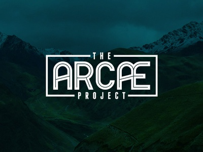 The Arcae Project the arcae project logo type blue white picture photograph background mexico