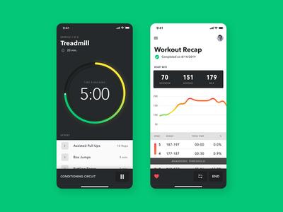 Workout App Exploration