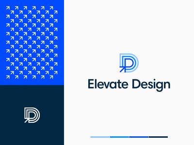 Elevate Design Branding branding logo typography design