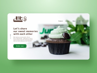Natlie website redesign concept web cookies design uiuxdesign uiux web ui web design website