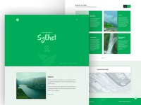 landing page -  sylhet