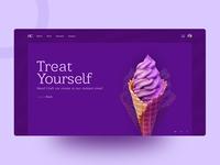 Exploration | ice cream shop Web