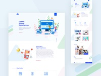 Startup agency | landing page