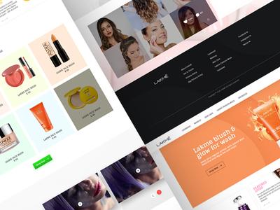 Lakme Ecommerce analyzen instafeed homepage product woocommerce lakme redesign website ecommerce